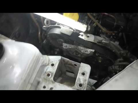 Фото к видео: Renault Kangoo 1.9 d F8Q метки ГРМ