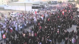 preview picture of video 'Bahrain | المسيرة الجماهيرية || عدنا || 15 مارس 2013'