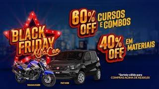 Concorra a um carro e uma moto na Black Friday AlfaCon!