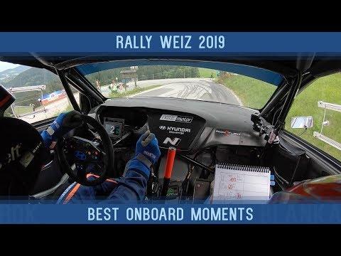 Rally Weiz 2019 | Best onboard moments | Rok Turk - Blanka Kacin (Hyundai i20 R5)