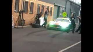preview picture of video 'Aston Martin pit stop'
