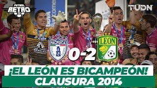 Futbol Retro: ¡Histórico! ¡El león es bicampeón! | Pachuca 0 - 2 León - Final CL 2014 | TUDN
