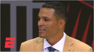 Tony Gonzalez highlights Chiefs and Falcons memories during Hall of Fame speech | NFL on ESPN