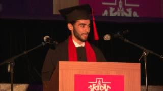 Palabras del Alumno Eduardo Beltrán, Graduación Prepa Ibero 2015
