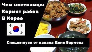 Чем вьетнамцы кормят русских гастарбайтеров в Корее