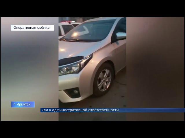 Водителей из свадебного кортежа привлекли за нарушения правил дорожного движения