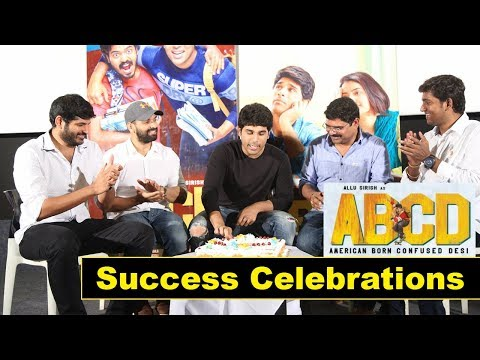 ABCD Movie Success Meet Event