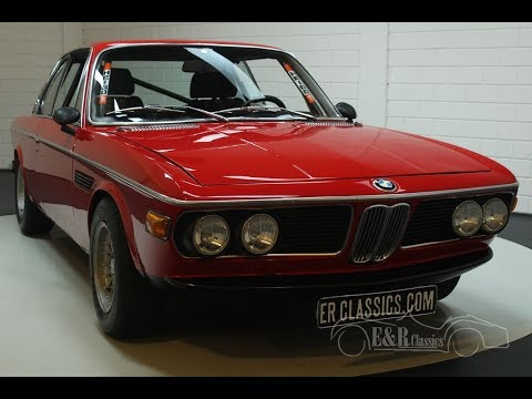 Video of Classic 1973 BMW 3.0CSL Offered by E & R Classics - PH42