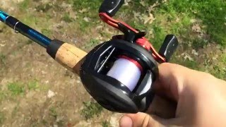 The simplest way to cast a bait-caster abu garcia