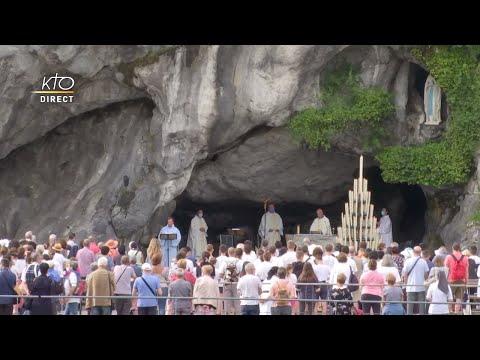 Messe de 10h à Lourdes du 23 juillet 2021