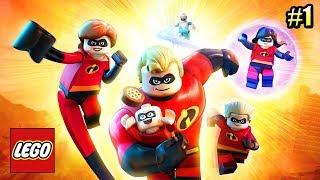 Суперсемейка {LEGO The Incredibles} прохождение часть 1 — Новые Приключения