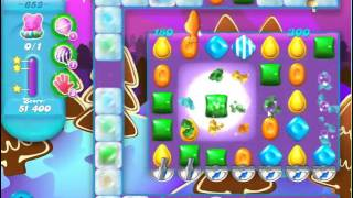 Candy Crush Soda Saga Level 653 - No Boosters
