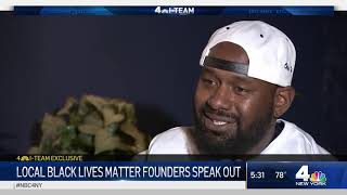 Local Black Lives Matter Founders Speak Out | NBC New York