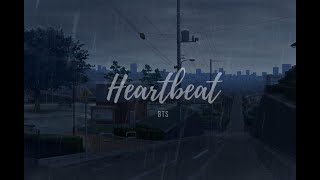 """""""heartbeat""""   Bts But It's Raining And You're Running After The Love Of Your Life Who's Leaving You"""