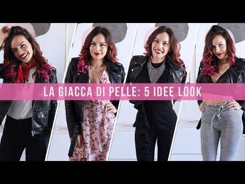 COME INDOSSARE UNA GIACCA DI PELLE?! 5 IDEE LOOK DA COPIARE SUBITO! (brands in descrizione)