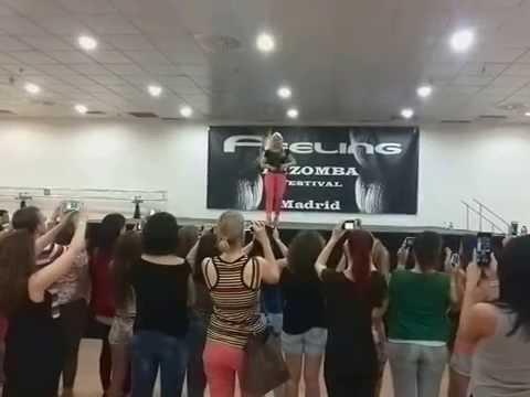 Carolina Fajardo Feeling Kizomba Festival 2015