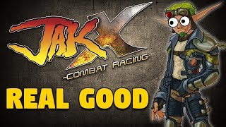 Yelling About Jak X: Combat Racing