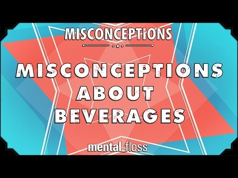This Video Debunks 10 Misconceptions About Your Favourite Beverages