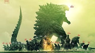 How Big is Godzilla Earth?!? / Godzilla Size Comparisons / New Anime Godzilla Earth Size! (spoiler)