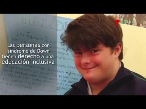Ver vídeoDerecho a la educación inclusiva de las personas con síndrome de Down