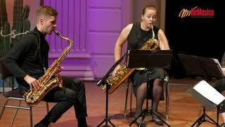 Kushtrim Gashi: Po Vijn' Krushqit By Ebonit Saxophone Quartet   Remusica Festival 2020