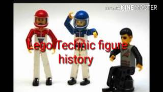 Lego Technic figure - Lego forgotten history