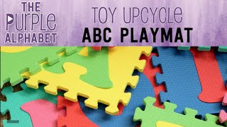 Alphabet Mat Activity Ideas for Kids - Toy Upcycle