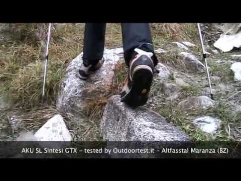 Test scarpe trekking Aku SL Sintesi GTX - Outdoortest