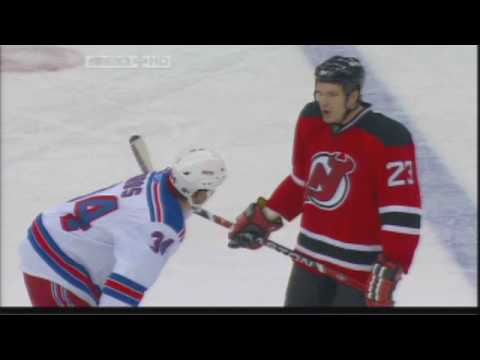 Aaron Voros vs David Clarkson