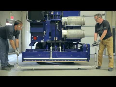 Zamboni Machine Ice Making Water Distribution Pipe