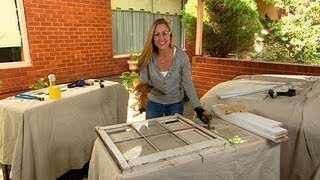 Better Homes And Gardens - Decorating: How To Fix A Window Frame