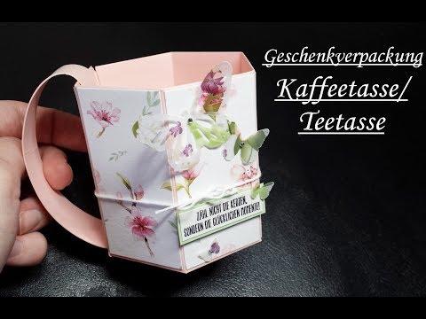 Geschenkverpackung | Teetasse/Kaffeetasse | Tutorial