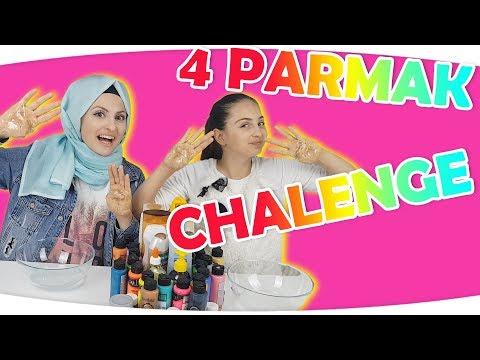 4 Parmak Challenge   Eğlenceli Challenge   4 Fingers Challenge