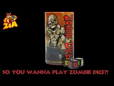 Zombie Dice | HOW TO PLAY