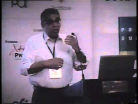 Print Summit 2005 : Arun Mehta at Print Summit 2005