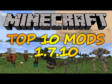 Top 10 Minecraft mods (1.7.10) - 2016