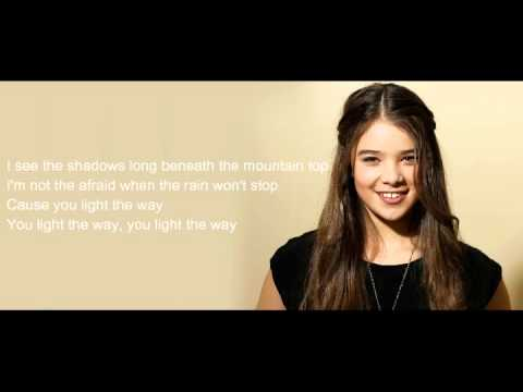 Flashlight Cover By Hailee Steinfeld For Pitch Perfect 2 As Emily Junk W/ Lyrics
