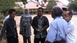 Sidak Anggota Dewan DPRRI Komisi X  Ambruknya SDN Mangunjaya 04 Tambun Selatan