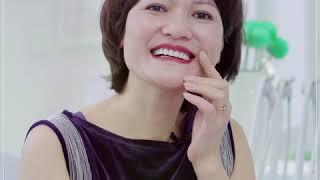 Khách hàng Hương Lan cảm nhận sự thay đổi sau khi bọc răng sứ tại Bally Dental