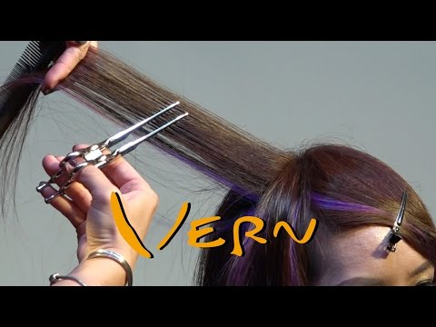 Haircut Tutorial – 4 Hair Ideas & New hair color trends, PART I , Vern Hairstyles 30
