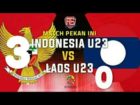 Indonesia Vs Laos (3~0) FULL Highlights All Goal Game17 Agustus 2018 Asian Games 2018