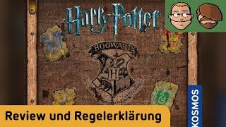 Harry Potter: Kampf um Hogwarts - Brettspiel - Review und Regelerklärung
