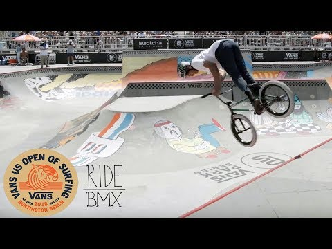 KEVIN PERAZA RIPPING AT THE VANS BMX PRO CUP QUALIFIERS