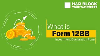 What is Form 12BB?How to declare Investments?[Explained]