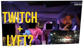 Lyft Driver Banned After Streaming Passengers on Twitch ft. Tim DeLaGhetto