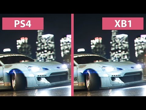 Need For Speed – PS4 vs. Xbox One Graphics Comparison [FullHD][60fps]