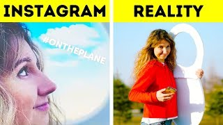 FEEL THE DIFFERENCE BETWEEN INSTAGRAM AND REAL LIFE...