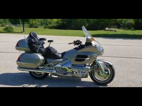 2002 Honda Gold Wing in Big Bend, Wisconsin - Video 1