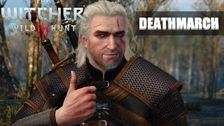 Witcher 3 Wild Hunt Deathmarch Livestream - Tallying the number of times I die - 0 DEATHS RUN?