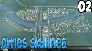 preview picture of video 'CITIES SKYLINES - F@S CITY - AMPLIANDO LA CIUDAD - EP 02'